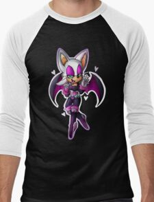 Rouge the bat- Sonic Heroes outfit Men's Baseball ¾ T-Shirt