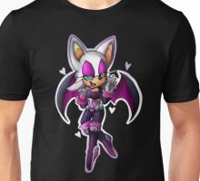 Rouge the bat- Sonic Heroes outfit Unisex T-Shirt