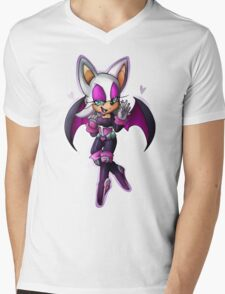 Rouge the bat- Sonic Heroes outfit Mens V-Neck T-Shirt