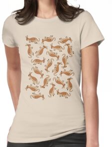 Kangaroos! Womens Fitted T-Shirt