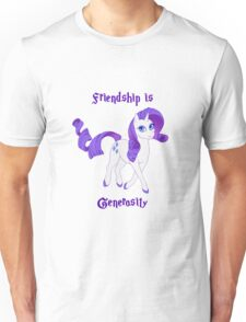 Friendship is Generosity Unisex T-Shirt