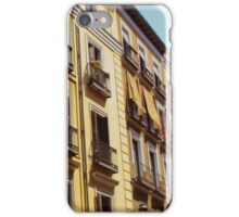 Yellow Apartments in Spain iPhone Case/Skin