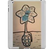 Daffodil Grenade iPad Case/Skin
