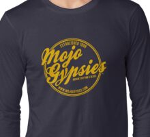 The Mojo Gypsies Long-Sleeve T, gold logo Long Sleeve T-Shirt