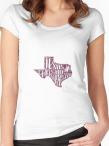 Texas Christian University Women's Fitted Scoop T-Shirt