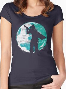 Cloud Cover Women's Fitted Scoop T-Shirt