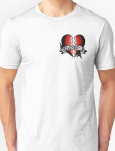 Fuckboy Flash   Heart Unisex T-Shirt