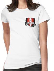 Fuckboy Flash   Heart Womens Fitted T-Shirt