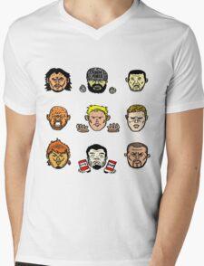 PURO BROS 2016 Mens V-Neck T-Shirt