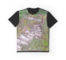 Garden Path Graphic T-Shirt