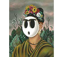 Frida Kahlo Guy Photographic Print