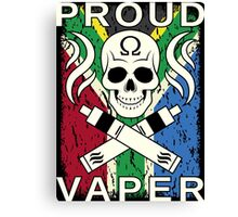 Proud Vaper | South Africa Canvas Print