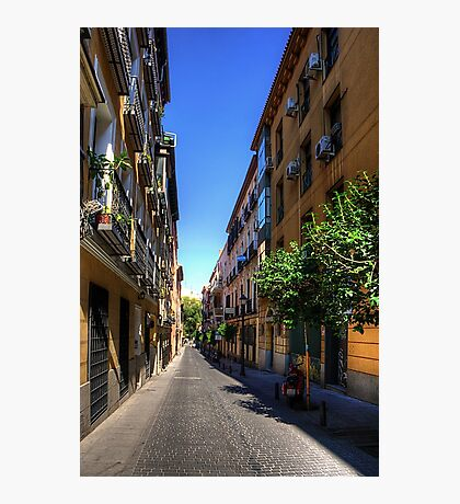 Old Quarter of Madrid Photographic Print