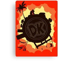 DK: Sunset Shore Canvas Print