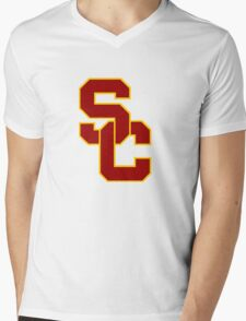 University of Southern California  Mens V-Neck T-Shirt