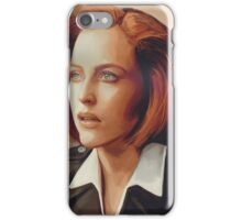 Agent Scully (w/o text) iPhone Case/Skin