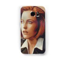 Agent Scully (w/o text) Samsung Galaxy Case/Skin