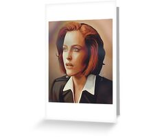 Agent Scully (w/o text) Greeting Card