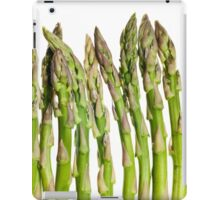 Asparagus Isolated On White Background iPad Case/Skin
