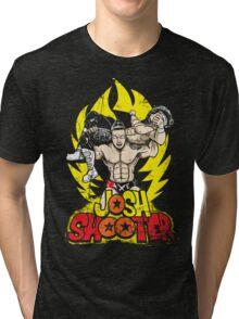 Super Axe Smash to JXT Tri-blend T-Shirt