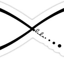 heda's sacred symbol Sticker