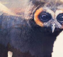 Owlbear in Mountains Sticker