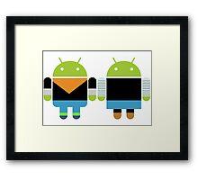 Androids Framed Print