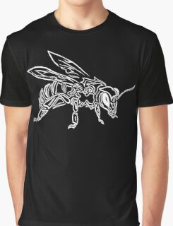 """Bee Spirit"" ver.2 - Surreal abstract tribal bee totem animal Graphic T-Shirt"