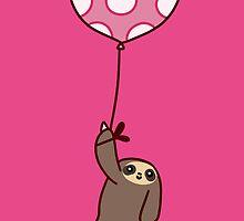 Heart Balloon Sloth by SaradaBoru