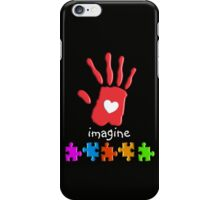 Autism Awareness Childs Hand iPhone Case/Skin