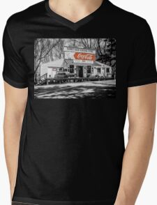 Rabbit Hash Store-Front View SC Mens V-Neck T-Shirt