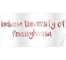 Indiana University of Pennsylvania (IUP) Poster