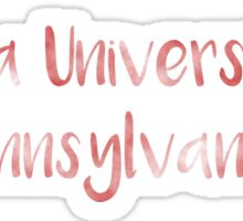 Indiana University of Pennsylvania (IUP) Sticker