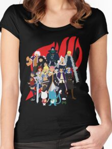 We Are Fairy Tail! Women's Fitted Scoop T-Shirt