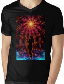 Satipatthana - Mindfulness  Mens V-Neck T-Shirt