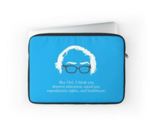 Bernie - Hey Girl Laptop Sleeve