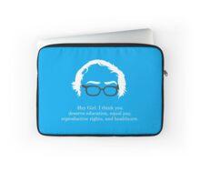 Bernie - Hey Girl Laptop Sleeve