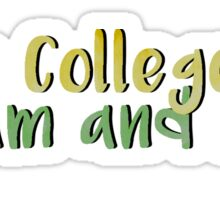 The College of William and Mary Sticker