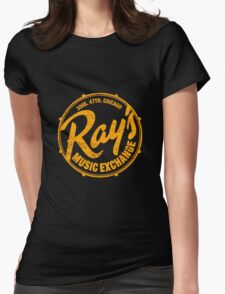 Ray's Music Exchange (worn look) Shirt Womens Fitted T-Shirt