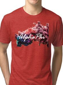 ALPHA PHI Tri-blend T-Shirt