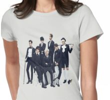 Block B Group Picture Womens Fitted T-Shirt