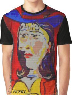 picasso graffiti # 2 Graphic T-Shirt