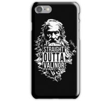 Wizard with the Pipe Shirt iPhone Case/Skin