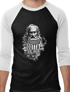 Wizard with the Pipe Shirt Men's Baseball ¾ T-Shirt