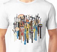 melting faces instruments Unisex T-Shirt