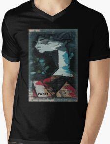 picasso graffiti # 3 Mens V-Neck T-Shirt