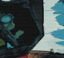 picasso graffiti # 3 Sticker