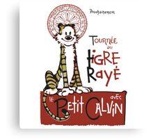 Tigre Raye Shirt Canvas Print