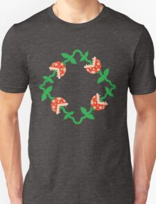 Piranha Plaid Unisex T-Shirt