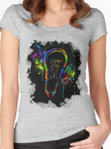 Be Color Unto The World Women's Fitted Scoop T-Shirt